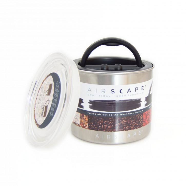AirScape - Kaffeedose 950ml / gebürsteter Stahl