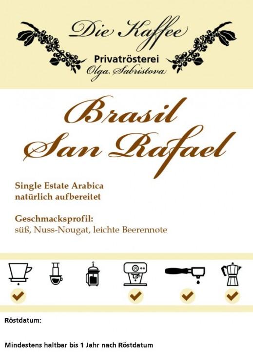 Brasil Cerrado San Rafael ganze Bohne / 250g