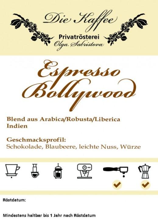 Espresso Bollywood 250g / ganze Bohne