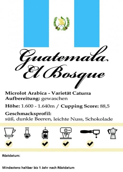 """Guatemala - """"El Bosque"""""""