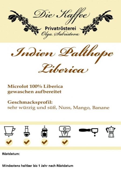 Liberica - Indien Palthope Estate 500g / ganze Bohne