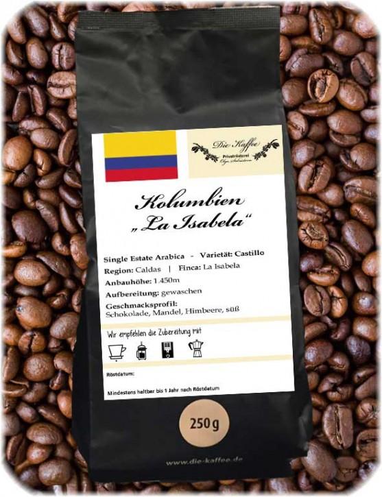 """Kolumbien - """"La Isabela"""" 250g / ganze Bohne"""