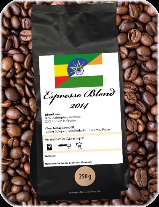 Espresso Blend - 2014 ganze Bohne / 250g