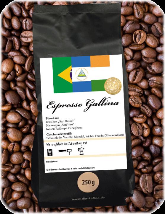 "Espressomischung ""Gallina"""