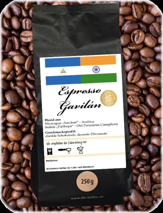 Espresso Gavilán ganze Bohne / 250g