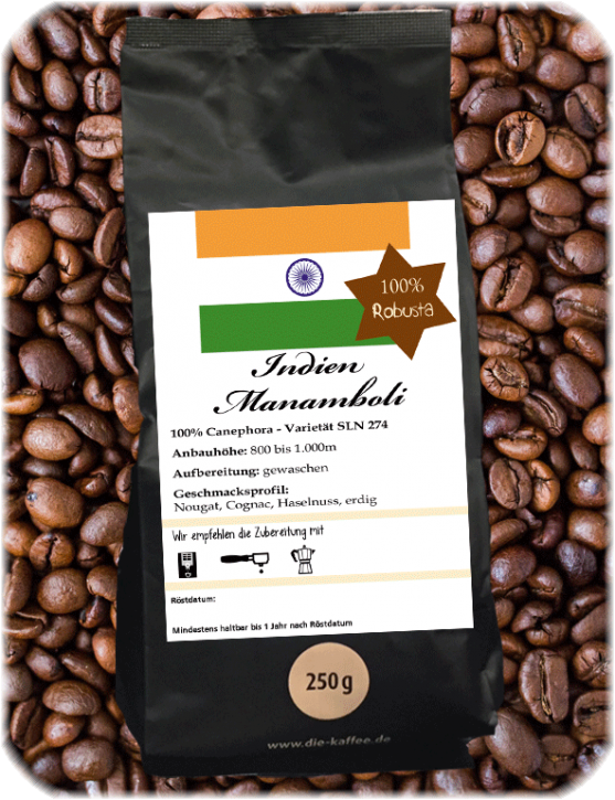 Indien Manamboli Estate - 100% Robusta