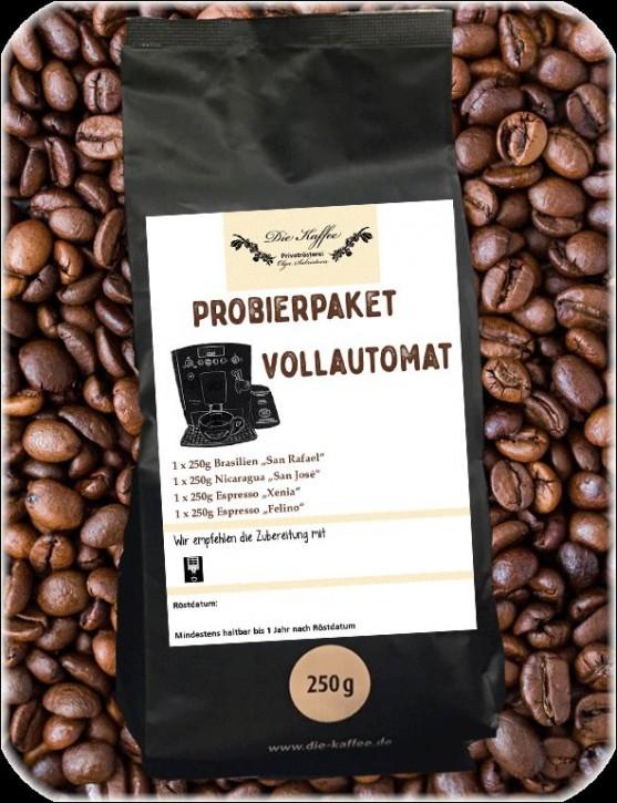 "Probierpaket ""Vollautomat"" - 4 x 250g"