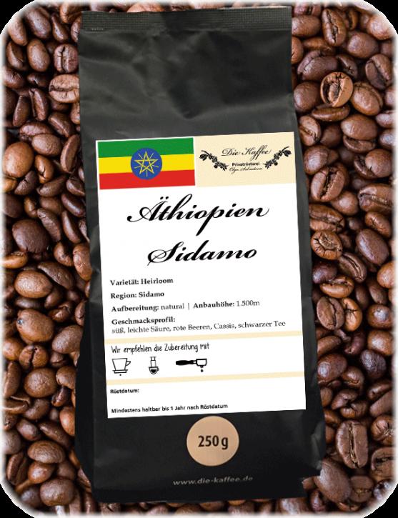 Äthiopien Sidamo 250g / ganze Bohne