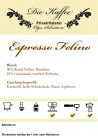 "Espresso ""Felino"" ganze Bohne / 500g"