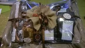 Die Kaffee Geschenkkorb