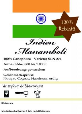 Indien Manamboli Estate - 100% Robusta