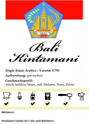 Bali - Kintamani 500g / ganze Bohne