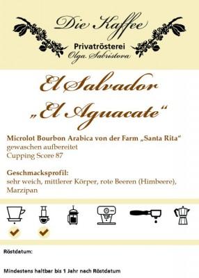 """El Salvador """"El Aguacate"""""""