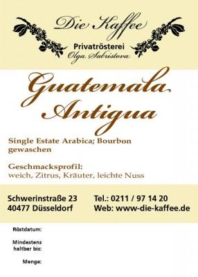 Guatemala Antigua 250g / ganze Bohne