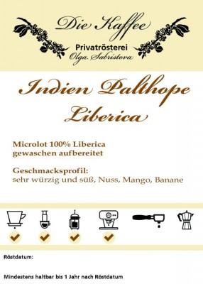 Liberica - Indien Palthope Estate 250g / Stempelkanne