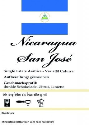 Nicaragua San Jose Estate