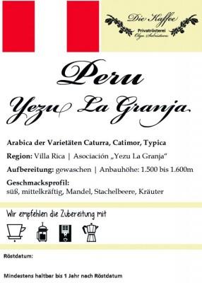 "Peru - ""Yezu La Granja"""