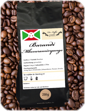 "Burundi ""Mboneramiryango"" 500g / ganze Bohne"