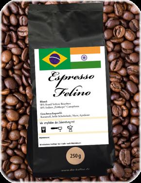"Espresso ""Felino"" ganze Bohne / 250g"