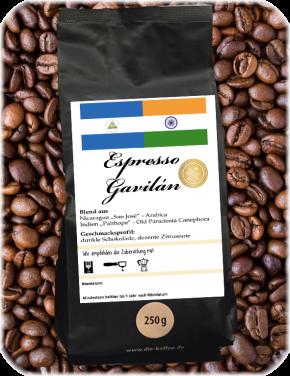 Espresso Gavilán ganze Bohne / 500g