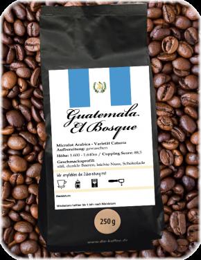 """Guatemala - """"El Bosque"""" 250g / ganze Bohne"""