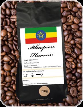 Äthiopien Harrar ganze Bohne / 250g