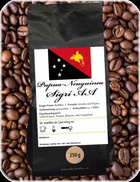 "Papua-Neuguina ""Sigri"" AA 250g / ganze Bohne"
