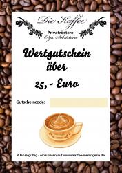 Geschenkgutschein 25,- Euro